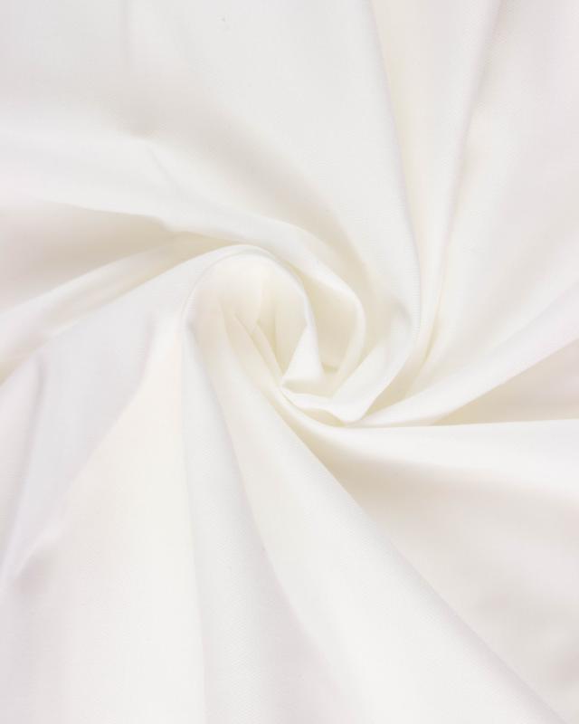 Calle anti plume Blanc - Tissushop