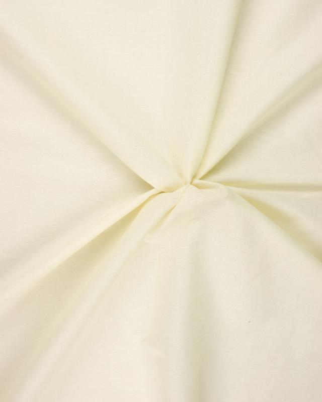 Voile de coton Décrué - Tissushop