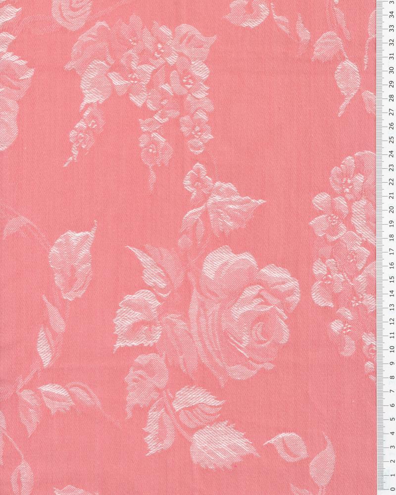 Flower mattress ticking Pink - Tissushop