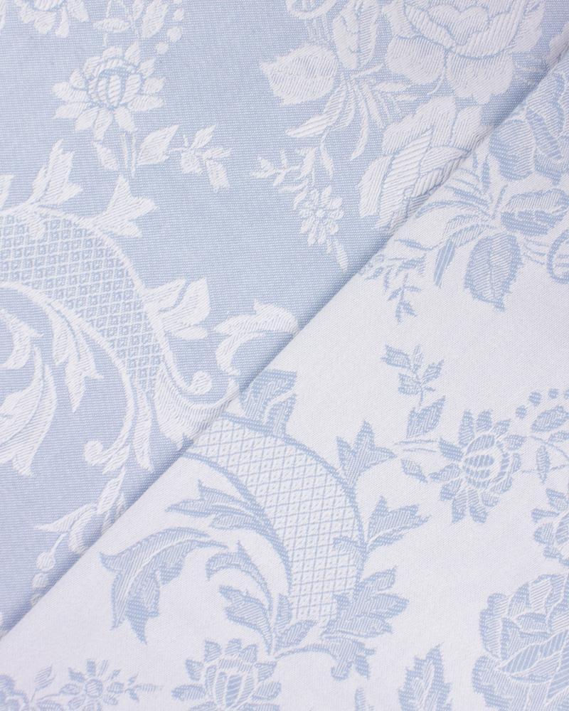 Vezelay Matress Ticking Blue - Tissushop