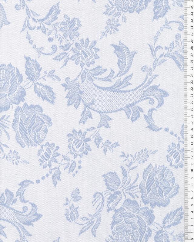 Coutil à matelas vezelay Bleu - Tissushop