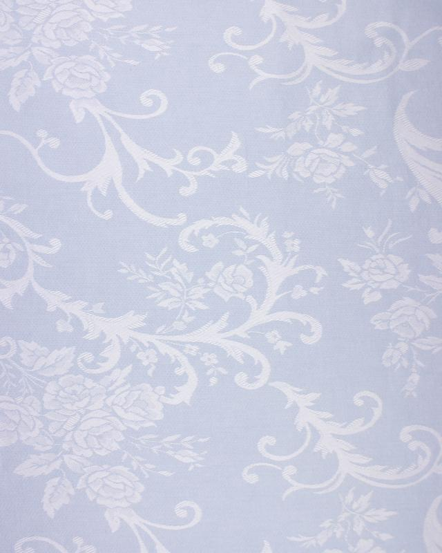 Rose mattress ticking Blue - Tissushop