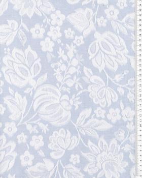 Coutil à matelas Eugénie Bleu - Tissushop