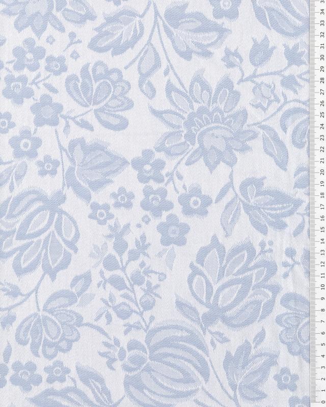 Eugénie mattress ticking Blue - Tissushop