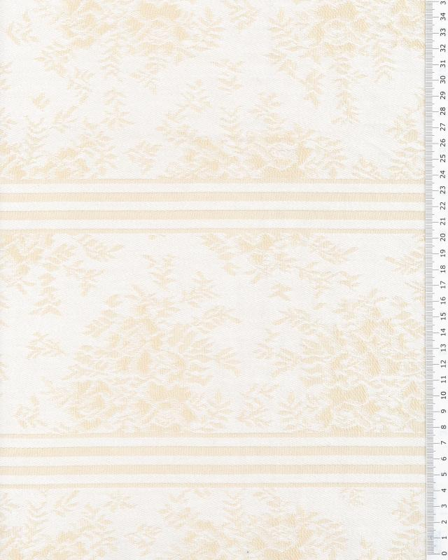 Angelica mattress ticking Champagne - Tissushop