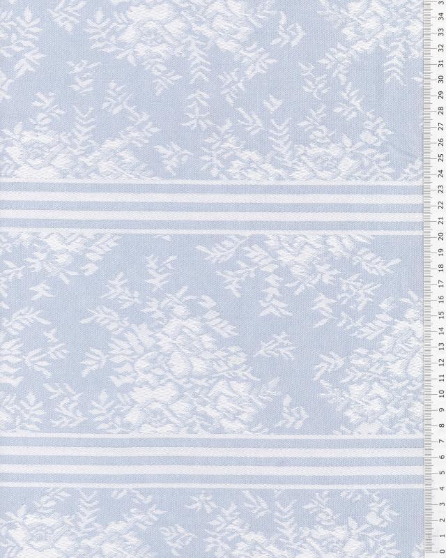 Angelica mattress ticking Blue - Tissushop