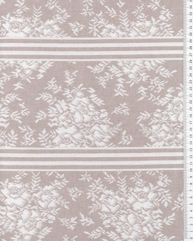 Angelica mattress ticking Grey - Tissushop