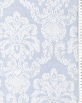 Baroque mattress ticking Blue - Tissushop