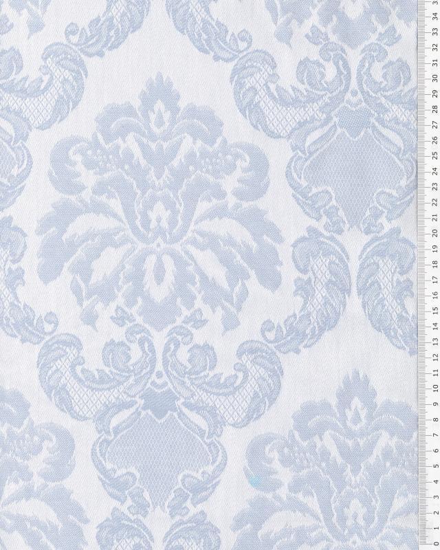 Baroque mattress ticking Blue - Tissushop