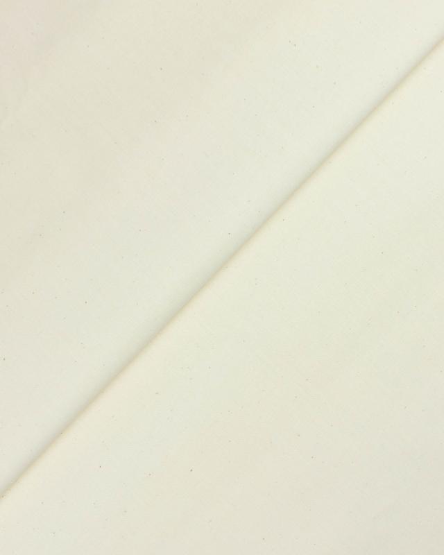 Toile blanche 160 gr/m² Décrué - Tissushop