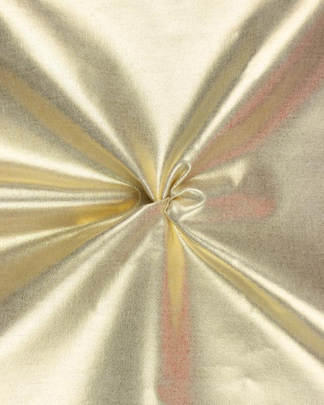 Coton métallisé Or - Tissushop