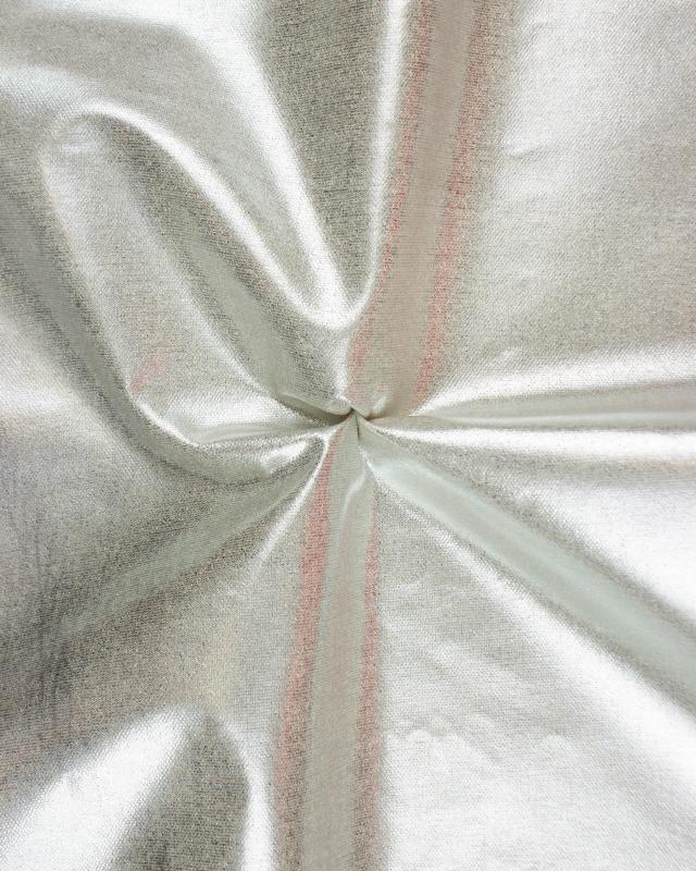 Coton métallisé Argent - Tissushop