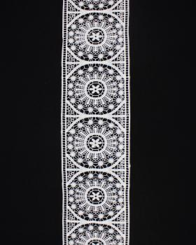 Lace ribbon 130 mm White - Tissushop