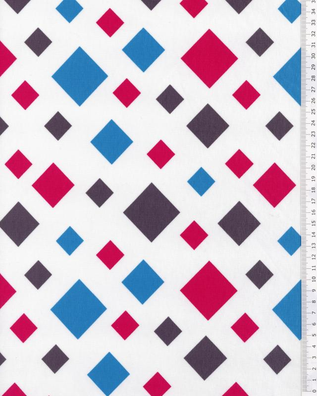 Rhombus Jersey / White - Tissushop