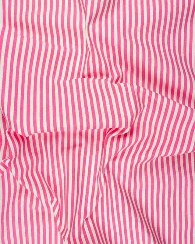 White Stripes Cotton Pink - Tissushop