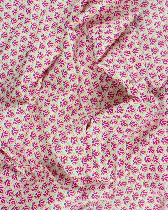 Cotton Popeline - Manco Fuchsia - Tissushop