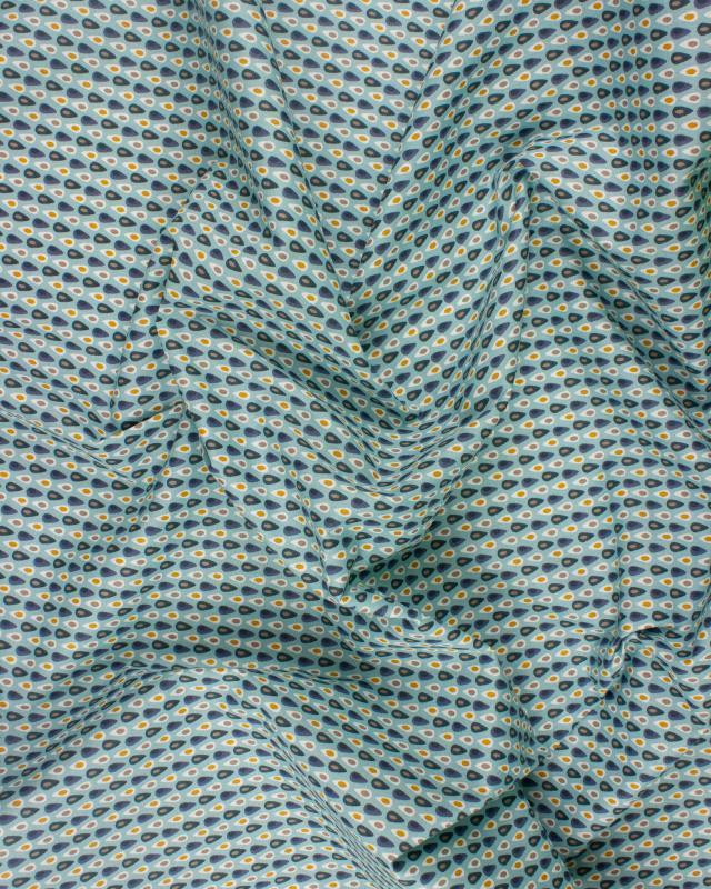 Cotton Popelin - Miluz Light Blue - Tissushop