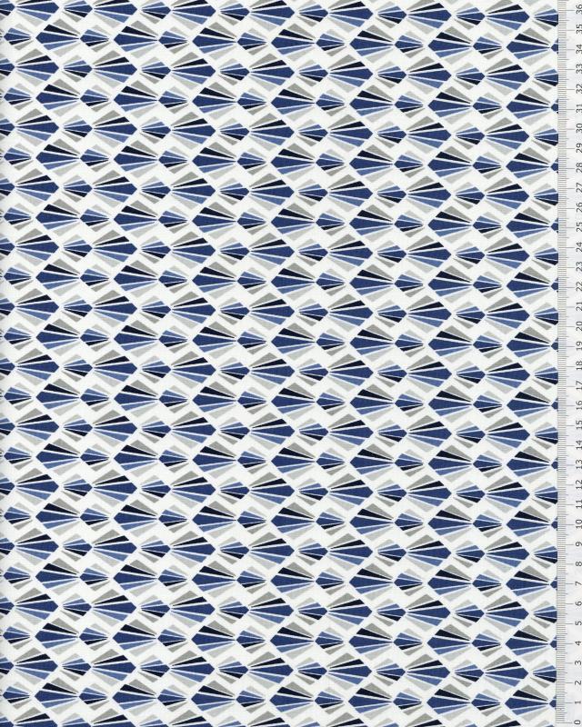 Cotton Popelin - Payani Blue - Tissushop