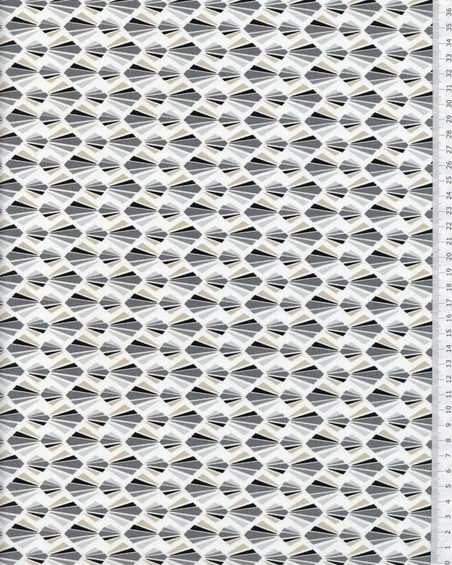 Cotton Popelin - Payani Dark Grey - Tissushop