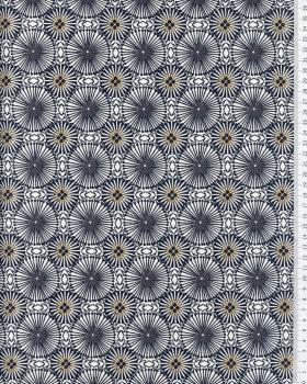 Popeline de Coton - Womby Sepia / Noisette - Tissushop
