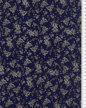 Lena printed cotton Blue - Tissushop