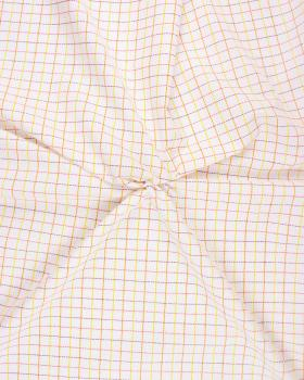 Popeline de Coton Dudulles Coordonné Orange - Tissushop