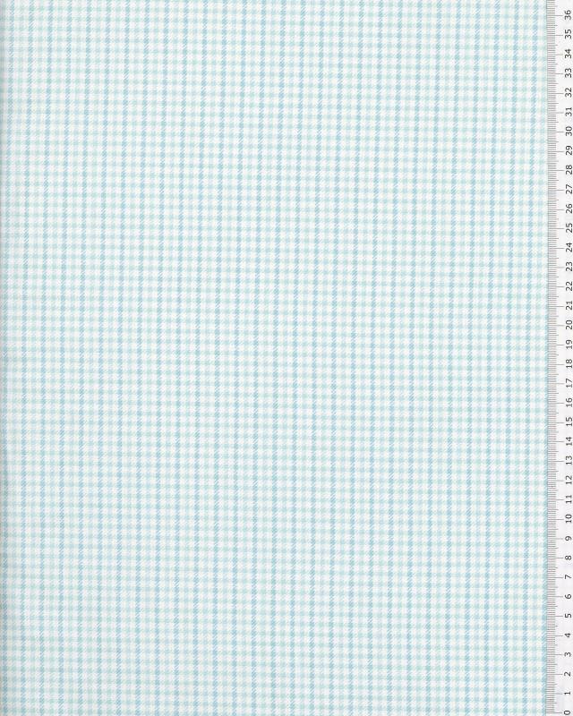 Popeline de Coton Frida Coordonné Bleu Ciel - Tissushop