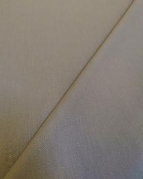 Cretonne Coton Uni Noix - Tissushop