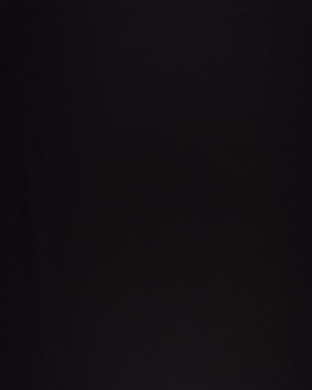 Cretonne Coton Uni Noir - Tissushop