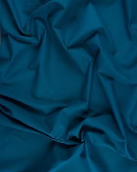 Cretonne Coton Uni Bleu Canard - Tissushop