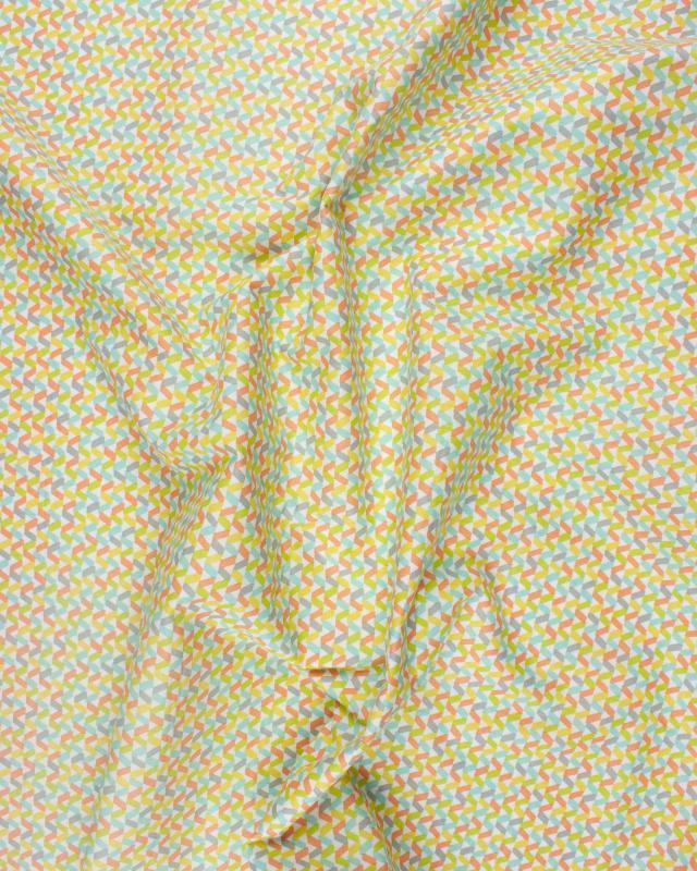 Popeline de coton Tregolo Mixte - Tissushop