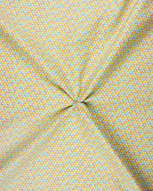 Cotton Popelin Mixed Tregolo - Tissushop