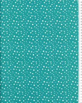 Splash Cotton Turquoise Green - Tissushop