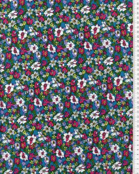 Cotton Popelin Flowers Paula - Tissushop