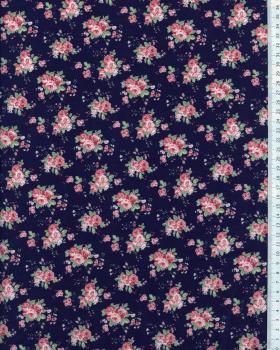 Cotton Popelin Flowers Rachel - Tissushop