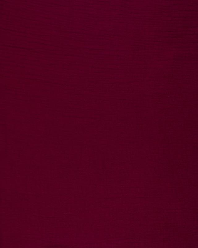Muslin Cotton Bordeaux - Tissushop
