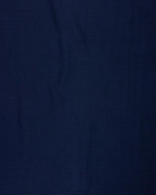 Muslin Cotton Navy Blue - Tissushop