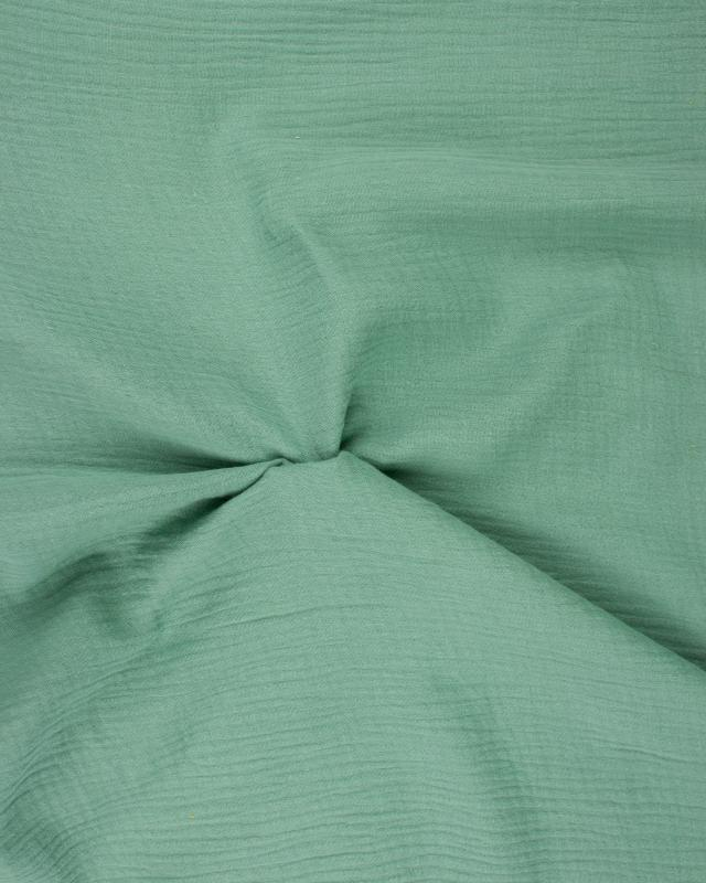 Muslin Cotton Eucalyptus Green - Tissushop