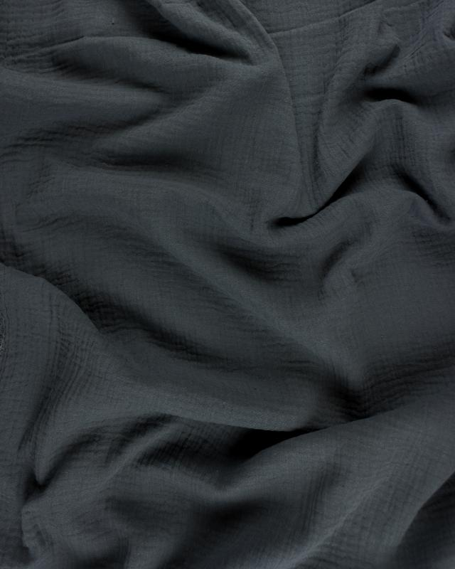 Muslin Cotton Dark Grey - Tissushop