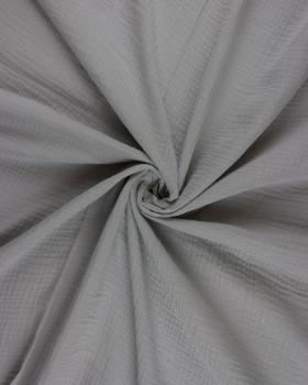 Muslin Cotton Light Grey - Tissushop