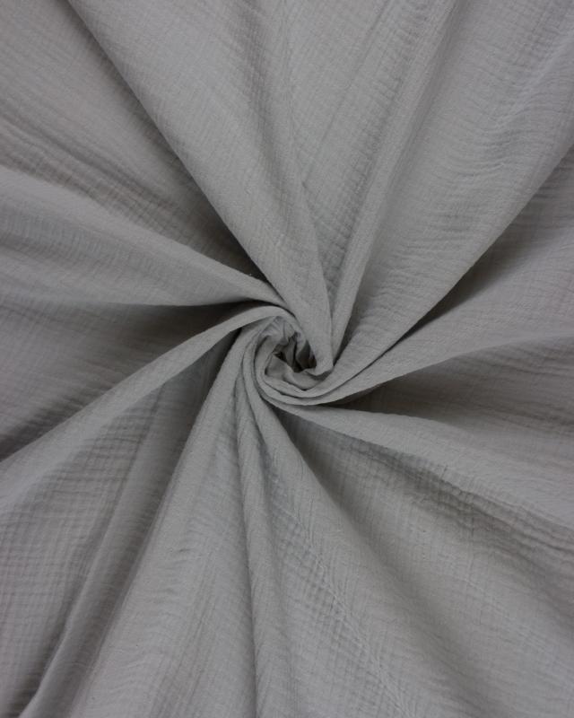 Muslin Cotton Light Grey - Tissushop