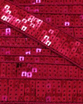 SQUARE GLITTER BRAID Strawberry - Tissushop
