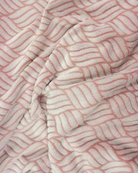 Fleece mesh Pink - Tissushop