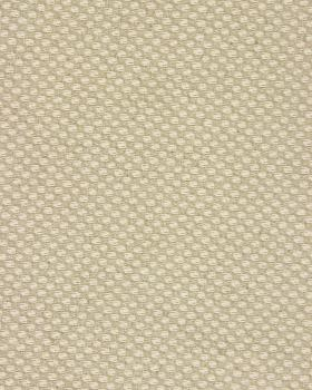 Cotton / Linen checkerboard in 280 cm Natural - Tissushop