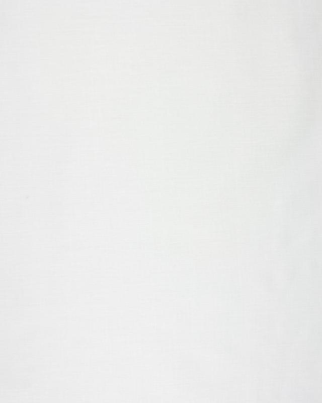 Doublure Poly/Coton Blanc - Tissushop