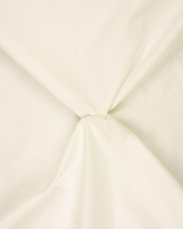 Doublure Poly/Coton Ivoire - Tissushop