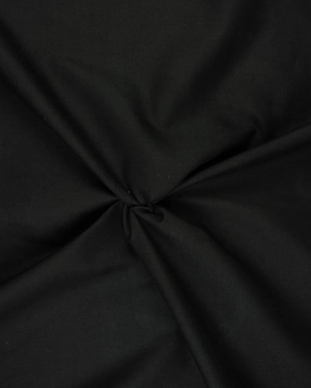 Doublure Poly/Coton Noir - Tissushop