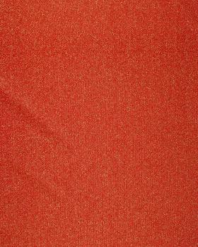Round Glitter Light Jersey Fabric / Red - Tissushop