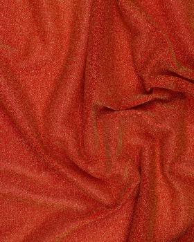 Jersey Léger à Paillettes / Rouge - Tissushop