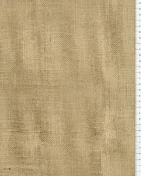 Jute cloth - 410 gr/m² - 420 cm - Natural - Tissushop